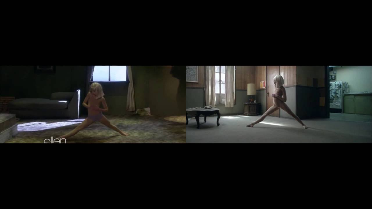 Sia chandelier official video vs live performance ellen show sia chandelier official video vs live performance ellen show arubaitofo Image collections