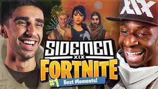 BEST SIDEMEN FORTNITE MOMENTS!