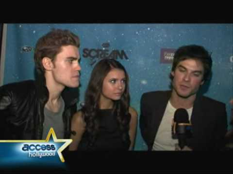 with The Vampire Diaries Cast