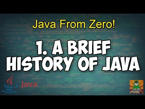 A Brief History of Java - 1 [Java From Zero]