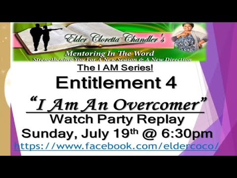 The I AM Series, Entitlement 4 -