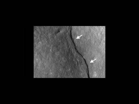 "NASA | LRO Reveals ""Incredible Shrinking Moon"""