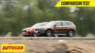 BMW X1 vs Audi Q3 | Comparison Test | Autocar India