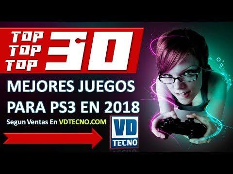 Top 30 Mejores Juegos Para Ps3 2018 Youtube