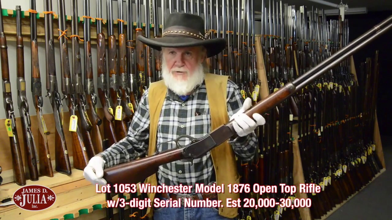 winchester serial numbers by model