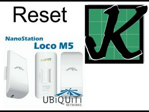 Tutorial] How to Reset Ubiquiti Devices to Factory Defaults