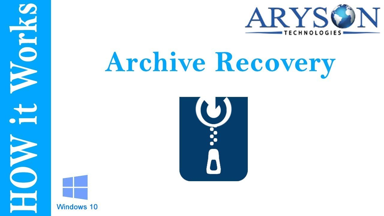 Archive Recovery Tool to Repair & Recover RAR and Zip