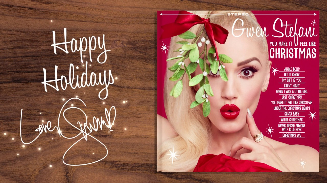 Gwen Stefani - You Make It Feel Like Christmas (official Trailer) - YouTube