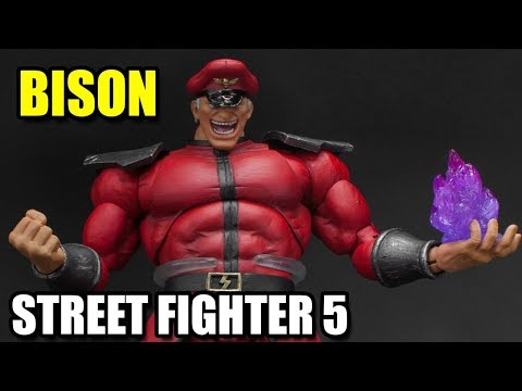 Boneco BISON STREET FIGHTER 5 Storm Collectibles - Review Unboxing #134