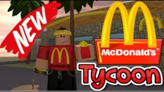 Roblox Mcdonalds Tycoon Insane Modder!!!!