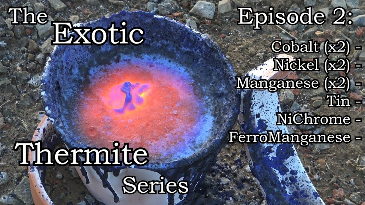 how to make manganese dioxide thermite