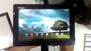 видео ЭЛЕМЕНТАРНОЕ. Планшет Acer B1-A71. Не реагирует тачскрин(сенсор). Стекло целое.