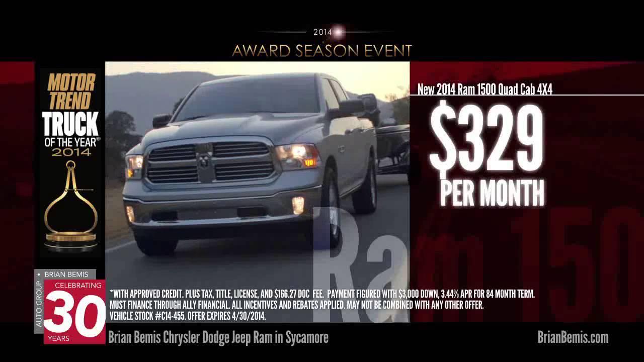Awards Season Event At Brian Bemis Dodge Chrysler Jeep Ram Youtube
