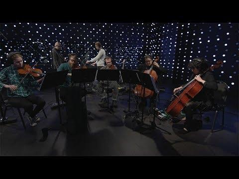 Jóhann Jóhannsson - A Sparrow Alighted Upon Our Shoulder (Live on KEXP)