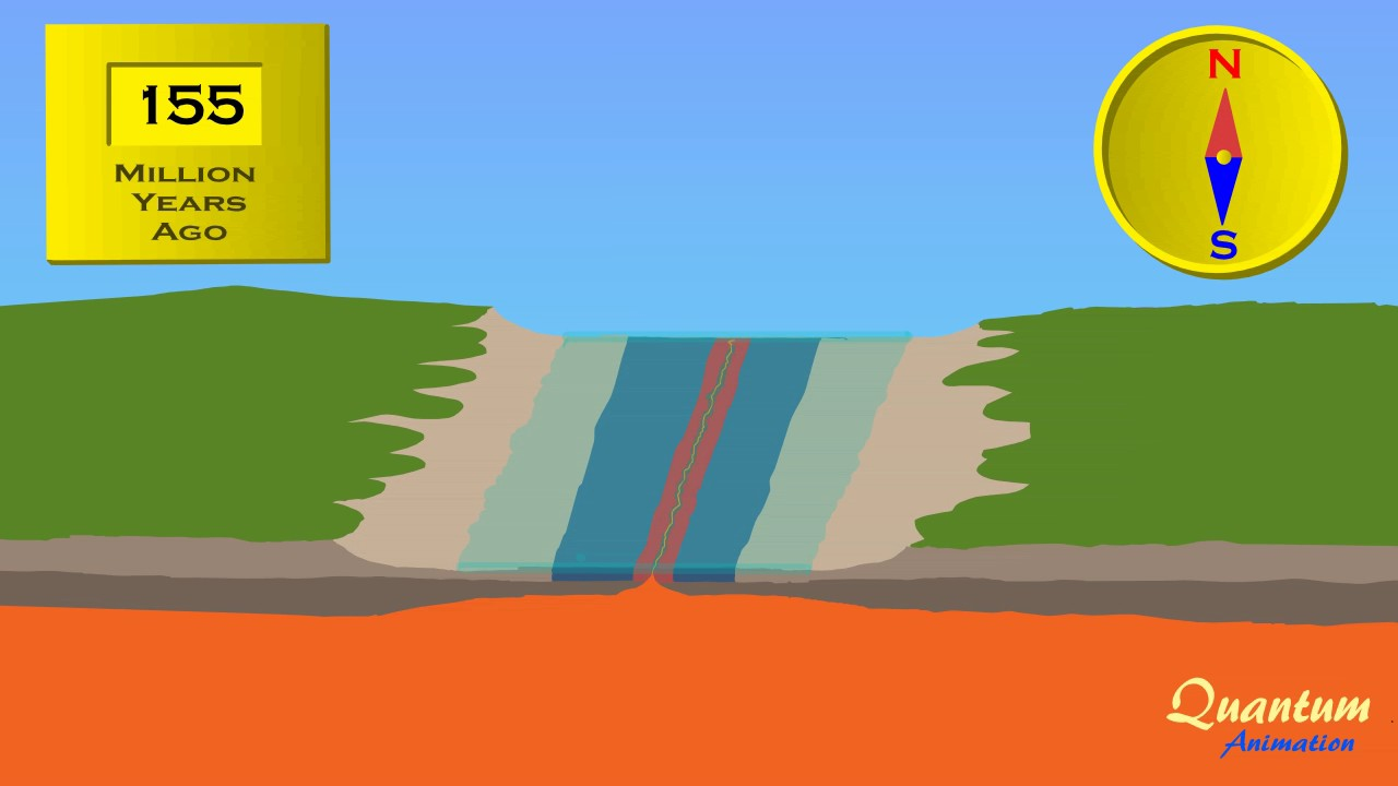 sea floor spreading [ 1280 x 720 Pixel ]