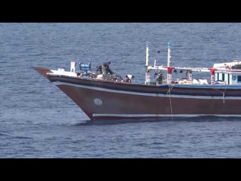 HMAS Darwin Weapons Seizure