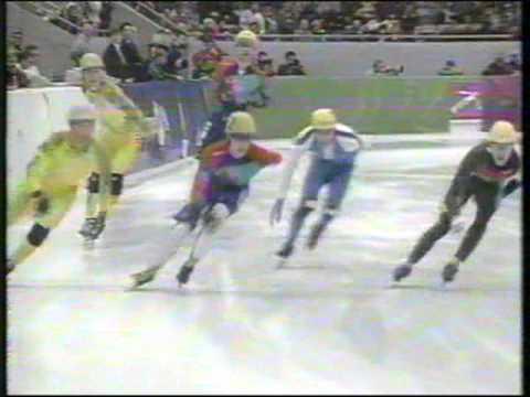 1994 - Winter Olympics Lillehammer, Norway - Short Track Men