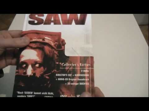 SAW 1 - Collectors Edition DVD - Unboxing und Vorstellung