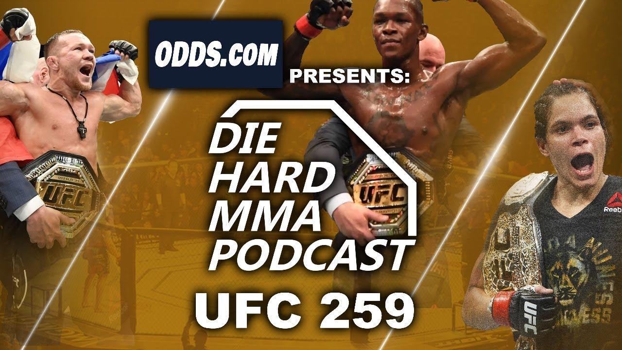Download UFC 259 Odds   Diehard MMA Podcast   UFC Predictions   UFC Picks for Blachowicz vs Adesanya