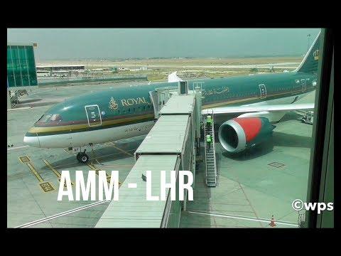 Plane Spotting *AMM - LHR/RW09L*Royal Jordanian B787-8 Dreamliner 🛫🛬