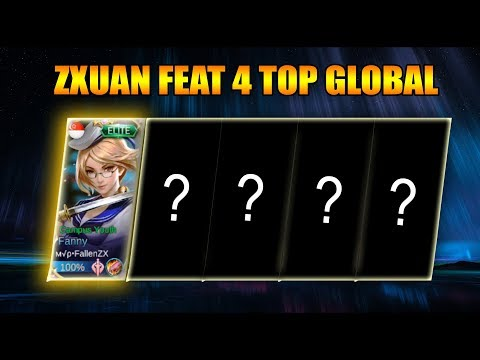 Gila' ! Team Macam Apa Nih ( Zxuan Ft 4 Top Global ) - Mobile Legends Bang Bang