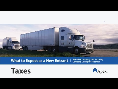 Taxes for Trucking Companies | Apex Capital Blog