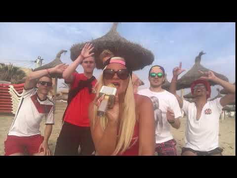 Juana Princess singt ihren neuen Song Mallorca an der playa de Palma 😜😜