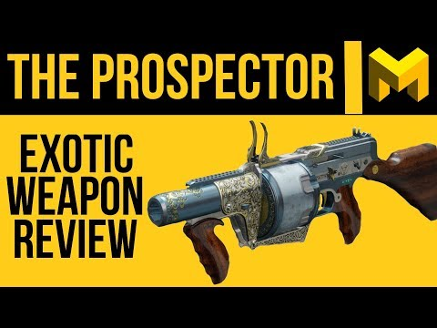 Destiny 2: The Prospector Exotic Review