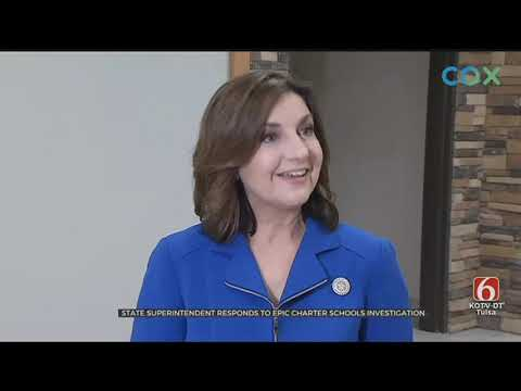State Superintendent Comments On Epic Charter Schools Investigation