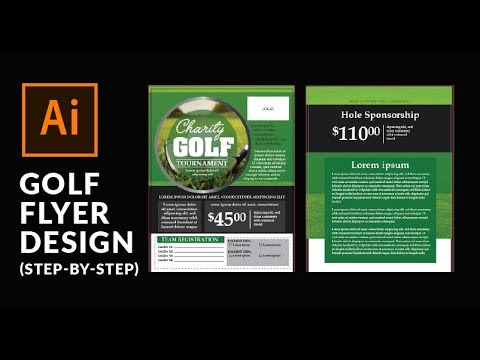 Flyer Design in Adobe Illustrator: Step by step instructions
