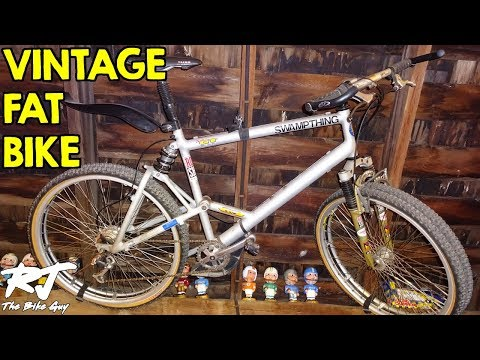 Vintage DIY Fat Bike with Dual Rims/Double Tires - Build Analysis