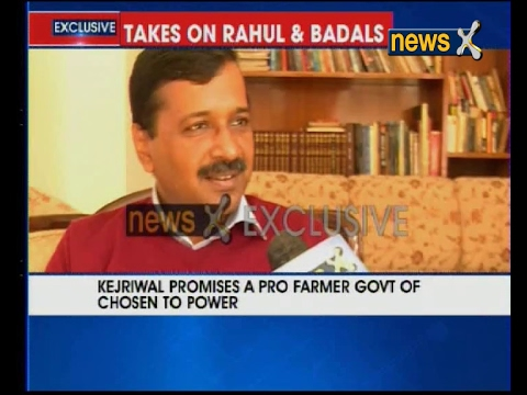 NewsX Exclusive: AAP chief Arvind Kejriwal expects to make clean sweep in Punjab Polls