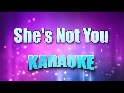 Presley, Elvis - She's Not You (Karaoke & Lyrics)
