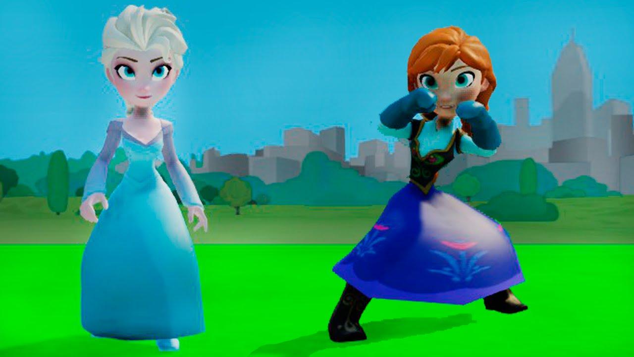 Принцесса Эльза и Анна из мультфильма Холодное Сердце ...