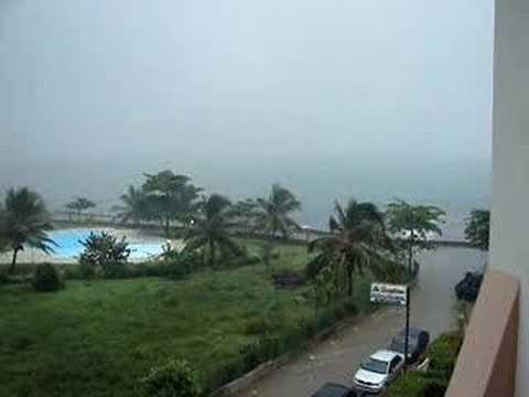 Tropical Storm Olga Santo Domingo