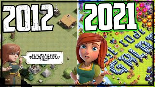 2012 to 2021 - Clash of Clans HISTORY!
