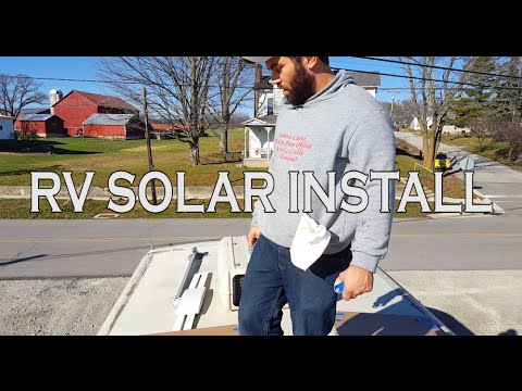 Full-time RV: Installing a Go-Power Solar and Inverter Set-up