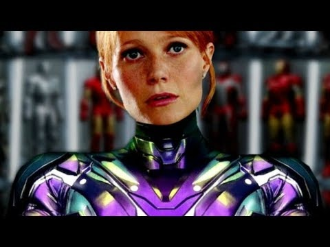 FULL Pepper Potts Rescue Armor Leaked By Toy - Avengers: Endgame