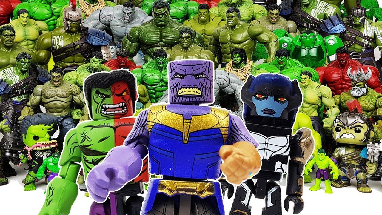 Hulk Smash! Compound Hulk Transformation! Avengers, Iron-Man, Captain  America, Spider-Man, Thanos