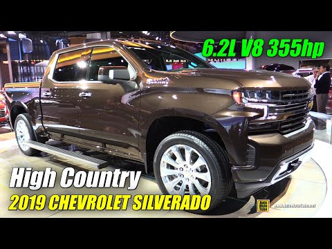 2019 Chevrolet Silverado High Country Exterior And Interior Walkaround 2018 Detroit Auto Show Youtube