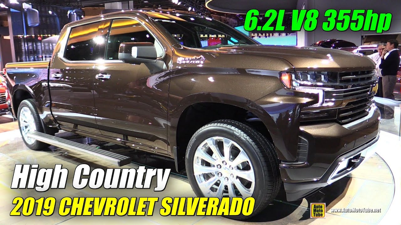 2019 Chevrolet Silverado High Country - Exterior and ...