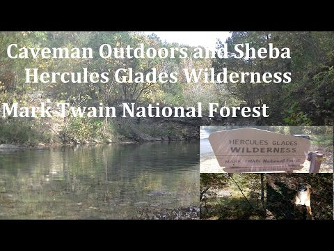 Hercules Glades Wilderness-Mark Twain National Forest Day 2
