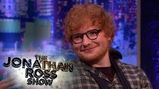 Ed Sheeran's bike accident almost cost him his career! - The Jonathan Ross Show