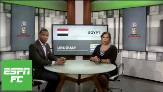 Shaka Hislop shocked Mohamed Salah didn't play for Egypt vs. Uruguay in 2018 World Cup   ESPN FC