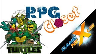 The RPG Closet: Teenage Mutant Ninja Turtles Review