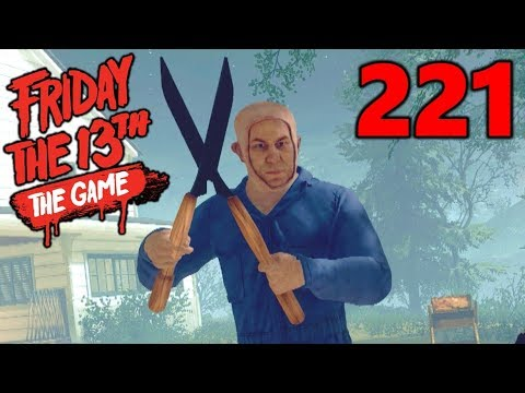 [221] Part 5 Jason's Music Patch!!! (Let's Play Friday The 13th The Game)