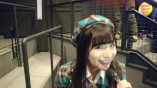 チームEAST公演第3バルコニーで撮影した動画です。左伴彩佳 髙橋彩香 橋...
