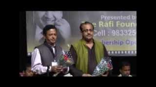 Rafi Foundation, Romantic Rafi - III. Felicitation By Binu Nair & R. H. Chawla...