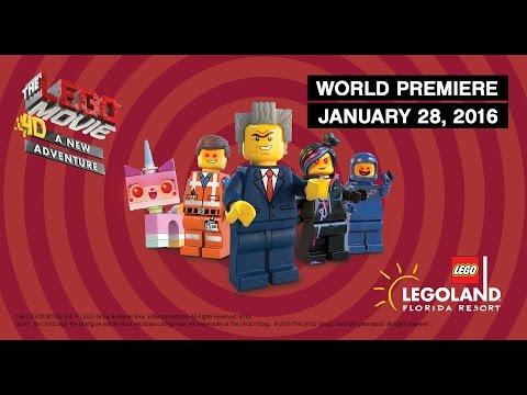 'The LEGO Movie 4D A New Adventure' World Premiere at LEGOLAND Florida Resort