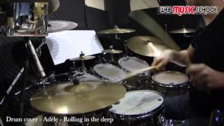 Adele - Rolling in the deep - DRUM COVER